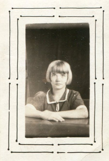 Anna Maria Morgart, about 1925 or 1926 or earlier